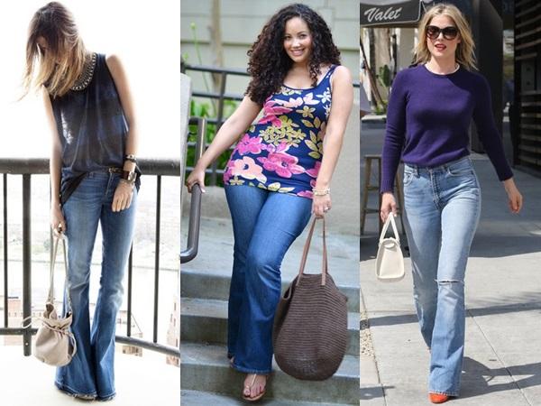 Pear Shaped Women In Skinny Jeans